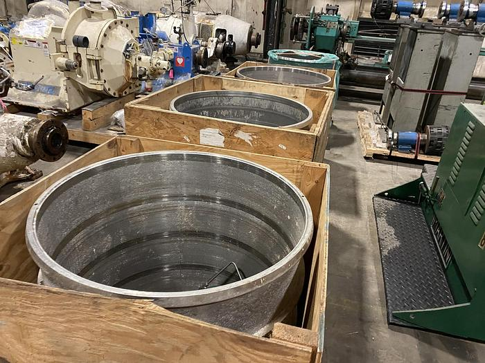 Used VOITH MSS SCREEN BASKET