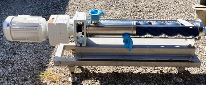 Seepex Model BCSB 10-12E Closed Pin Joints, pump, food & hygienic use suitable for conveying abrasive media.