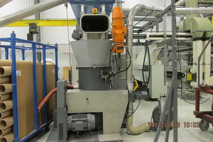 Used EREMA WASTE RECLAIM EXTRUDER MDL KAG 806 MFG. 2007