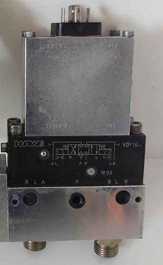 Gebraucht Wegesitzventil + Basisblock, VZP 1 G, Hawe gebraucht
