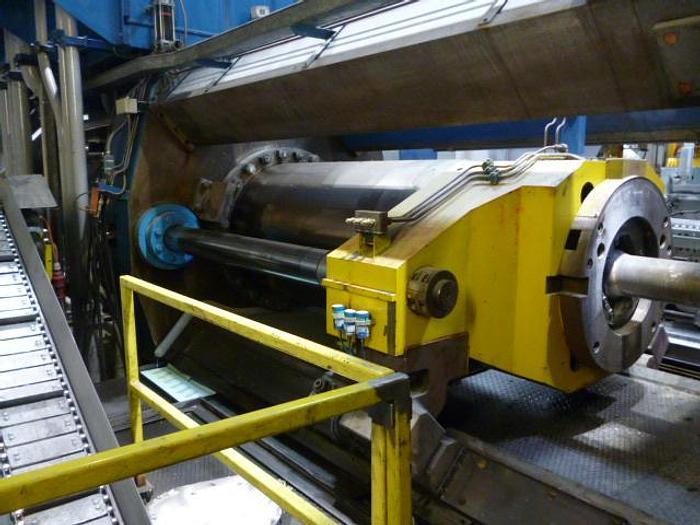 """Used 2200 ton x 8"""" Breda Aluminum Extrusion Line: EX-498"""