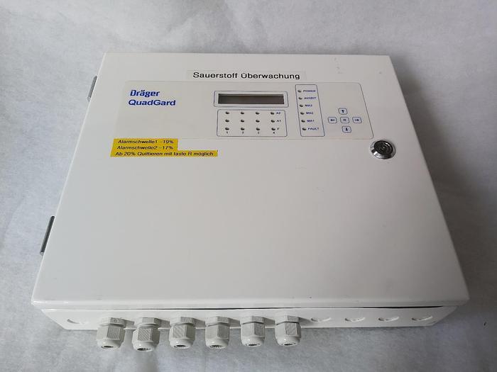 Gebraucht Gaswarngerät, Sauerstoffüberwachung, Quadgard, Dräger,  gebraucht