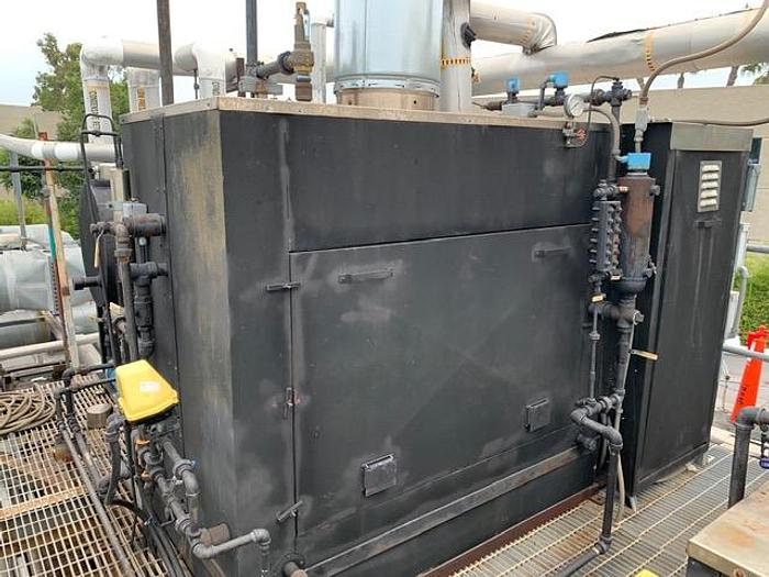 Used 2015 Parker Steam Boiler 40 HP 100 PSI