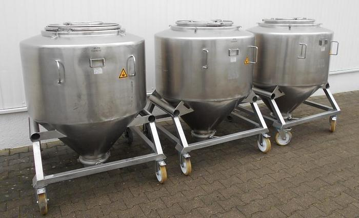 Used X 14503 C - Mixing Vessel 800 L BOHLE MCL 800