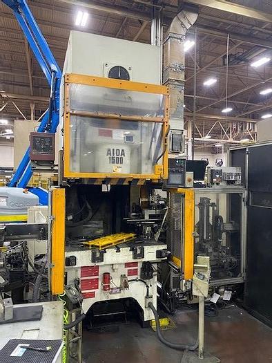 Used 165 ton AIDA Gap Frame Press