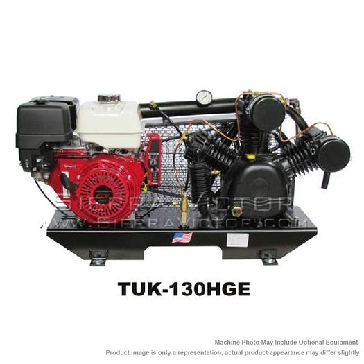 PUMA 13 HP Professional/Commercial Two Stage Gas-Powered Air Compressor without Tank TUK-130HGE