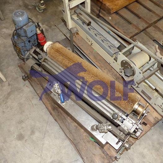 Gebraucht Einstreichvorrichtung inEdelstahlausführung mit ca. 820 mm