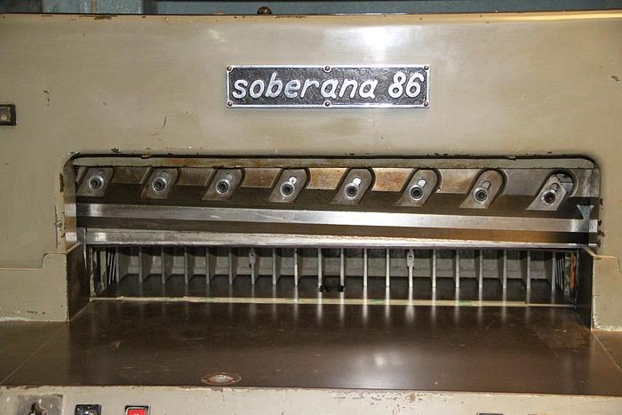 Electric guillotine SOBERANA 86