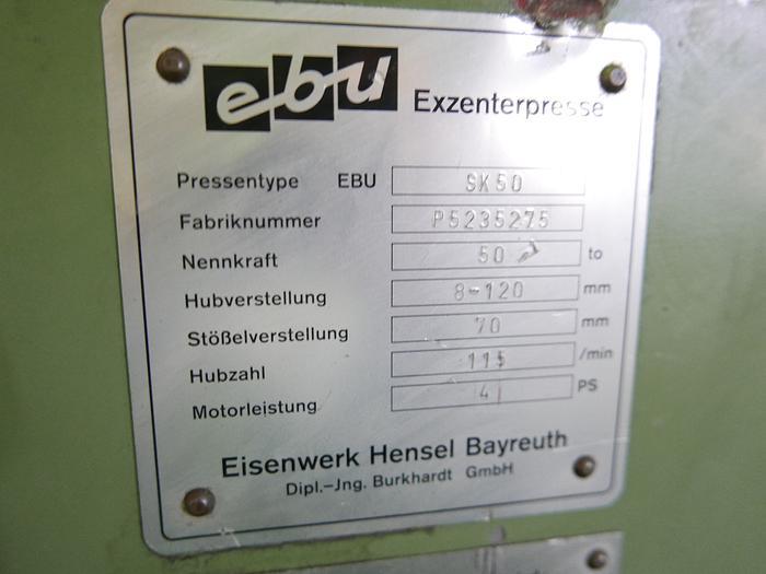 Exzenterpresse EBU SK 50