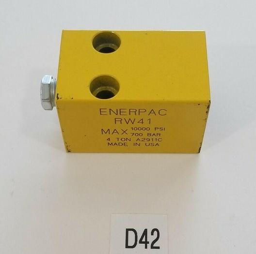 *NEW NO BOX* ENERPAC RW41 HYDRAULIC CYLINDER 4 TON 10000 PSI A2911C + WARRANTY!
