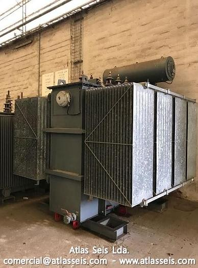 Used Efacec Oil immersed 3 phase Power Transformer 7000 kVA / 15000 V to 11000 V / 50 Hz