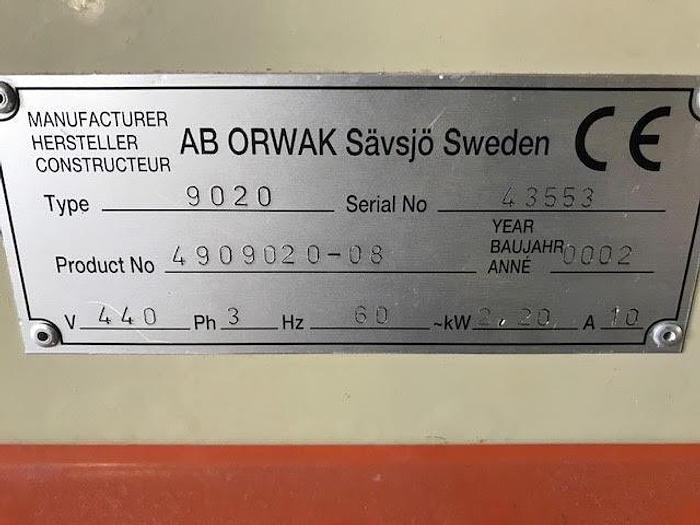 2002 ORWAK BALER