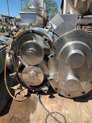 Used Waukesha -Cherry Burrel  Model 220 Positive Displacement Pump
