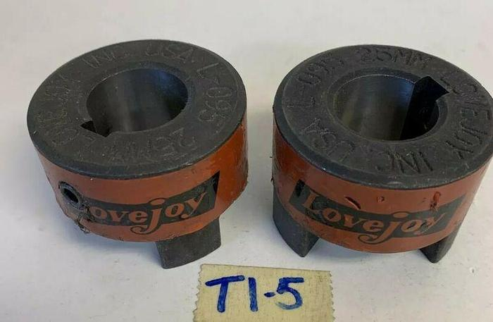 Used Lovejoy L-095 25 mm Coupling (Lot Of 2) Fast Shipping!~Warr