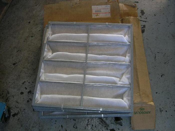 Used CAMFIL, type HC 80/25, 592×592 – 4×165