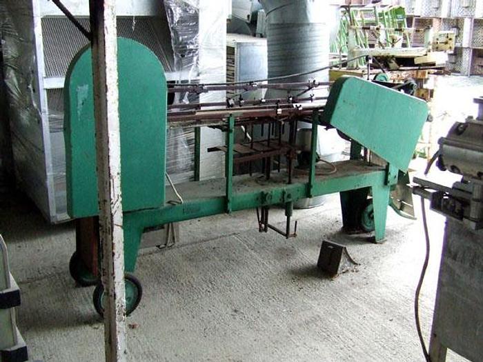 Used Etykietarka (etykieciarka) potokowa do puszek metalowych