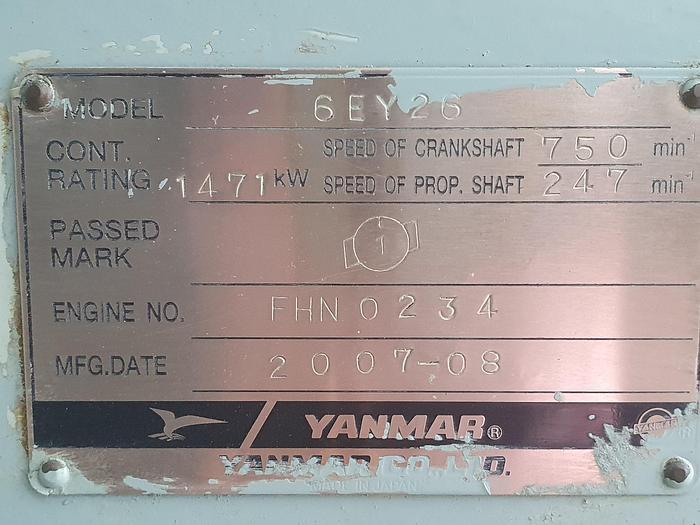 2007 Yanmar 6EY26