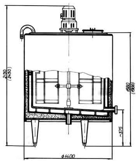Used Zbiorniki procesowe - M1200 - M1500