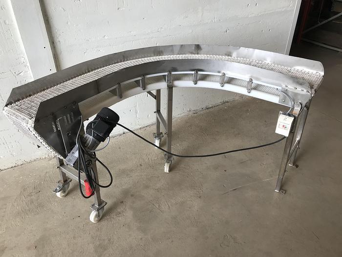 Använd Transportband 90grader, 240x30cm