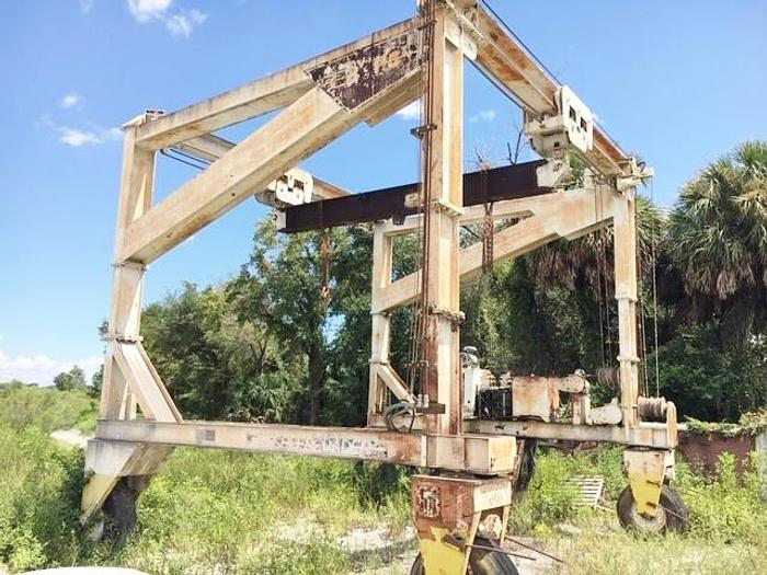 Used ROPCO 37 Ton Travel Lift