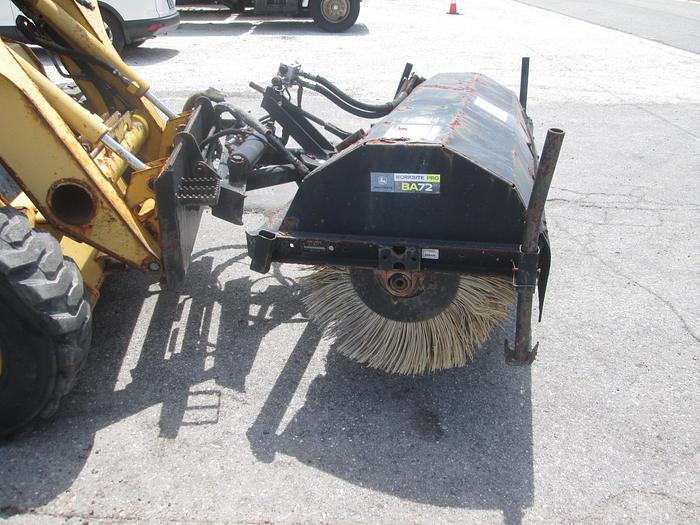 Used John Deere BA72 Skid Steer Sweeper