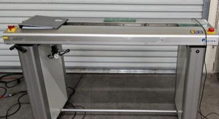 "Used NUTEK NTM410M-1500-1 2012 1.5M single stage transfer for 48"" led panels"