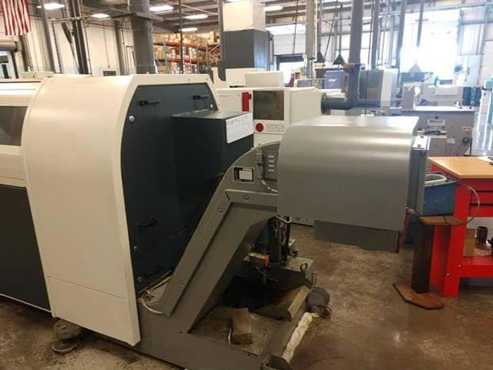 2001 TRAUB TNL-26 CNC SWISS TURN LATHE / TURN CENTER w/ LIVE TOOLING