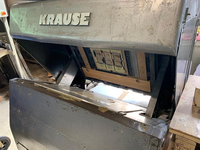 Used Krause wallet die cutting 50x65