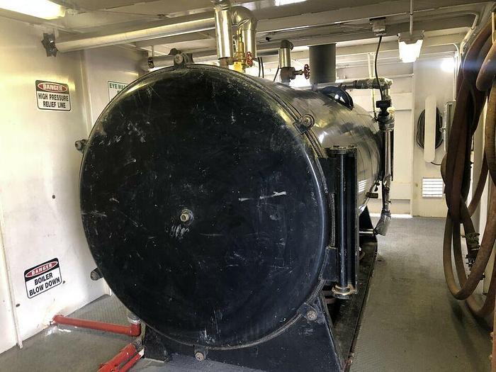 Used 125 hp boiler