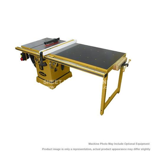 """POWERMATIC PM2000 Tablesaw 3HP 1PH 230V 50"""" Accu-Fence and Workbench PM23150WK"""