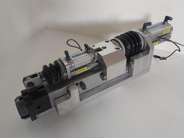 Gebraucht Zustellzylinder und Klemmung, Hub 60mm K3, Festo gebraucht-Top