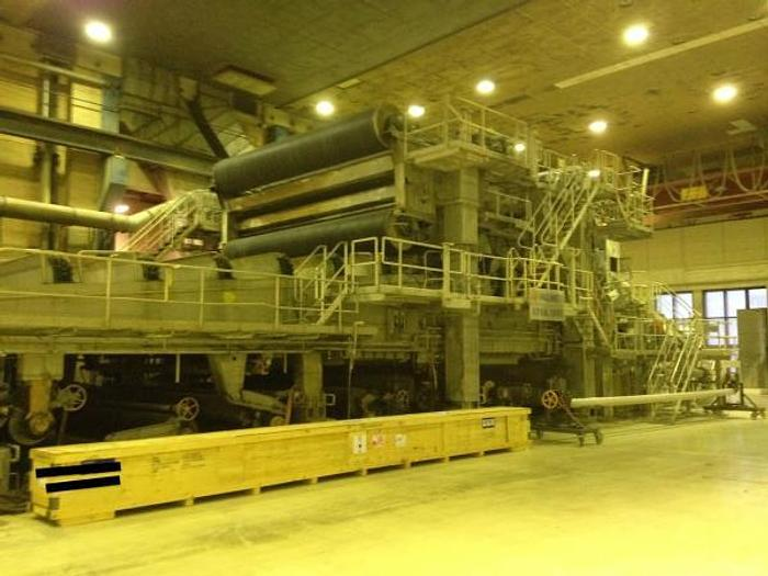 "Used 262"" (6.65M) TRIM SC/NEWSPRINT PAPER MACHINE SPEEDFORMER 400 TPD 3280 FPM (1000 MPM)"