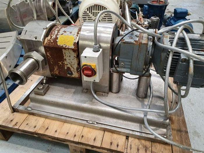 "Used Hilge NovaLobe 2 1/2"" Rotary Lobe Pump"