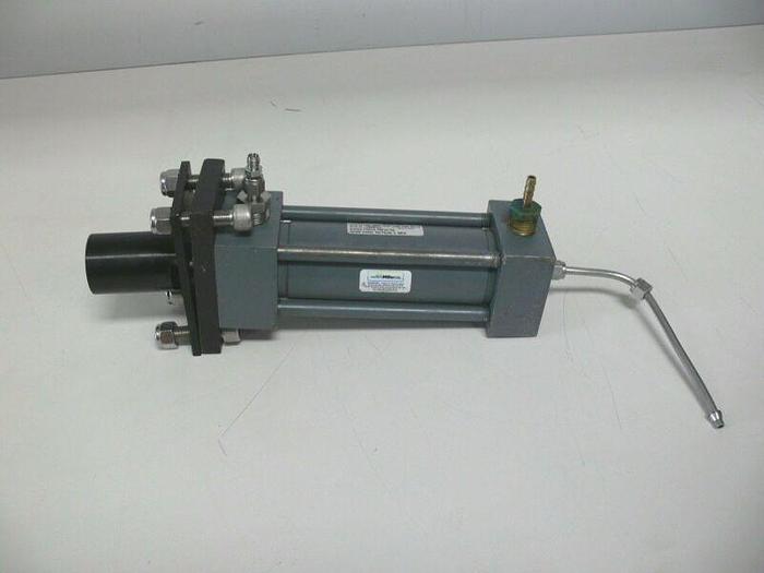 Used Miller Series HV3 HV3-50R2N-02.00-5.000-0100-N11-0 Hydralic Cylinder 2500 PSI