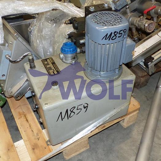 Gebraucht gebr. Hydraulikeinheit für Gießmaschine AWEMA