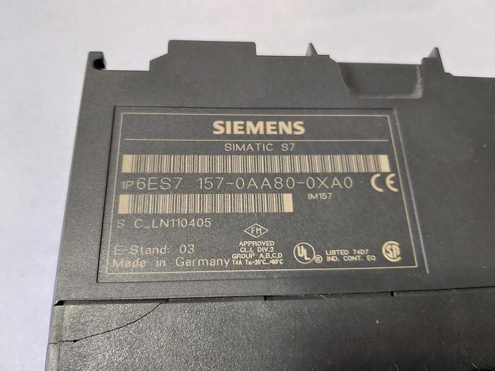 Gebraucht Siemens 6ES7 157-0AA80-0XA0,