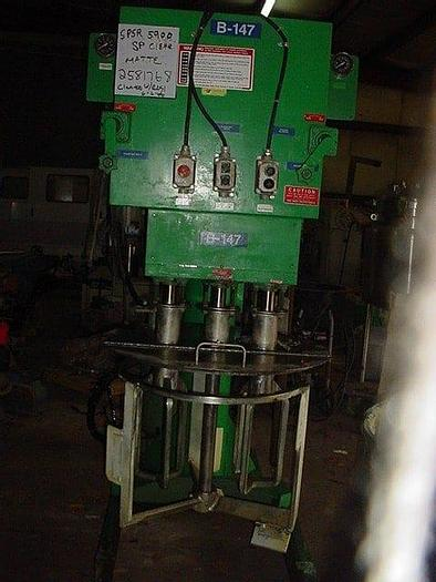 Used 100 GALLON MYERS MULTI-SHAFT MIXER – S/S (#9213)