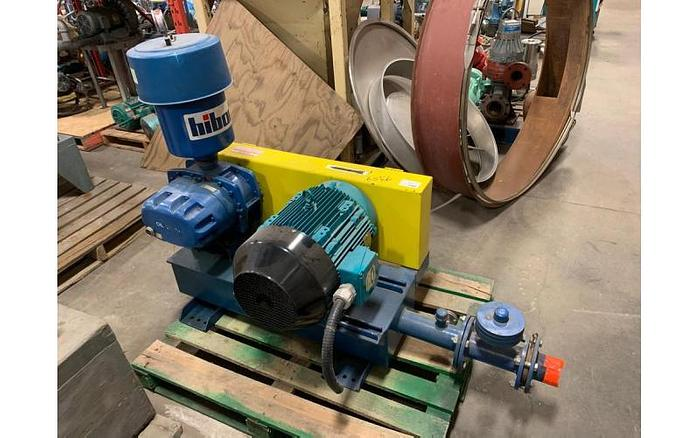 "USED ROTARY LOBE BLOWER, 3"" INLET & OUTLET"