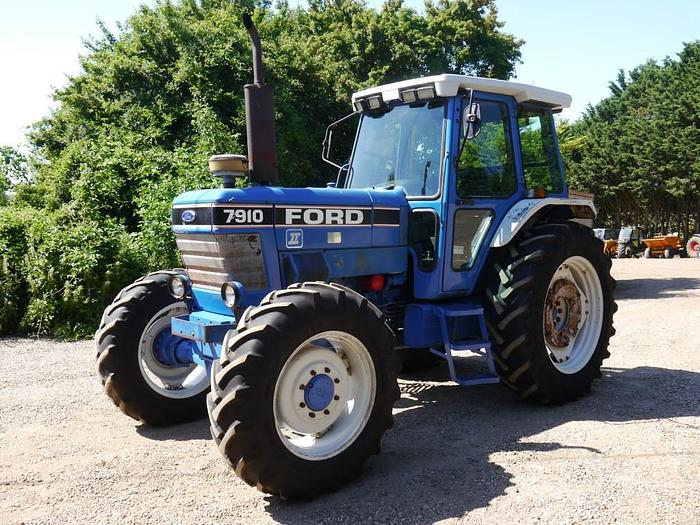 Ford 7910 4wd Tractor