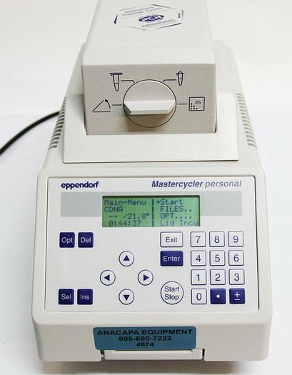 Used Eppendorf AG Mastercycler Personal 5332 Thermocycler (4674)