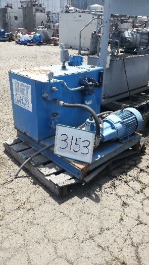 20B15-PF-C-6-F Hydraulic Power Pack With Approx. 5 Hp motor #3153