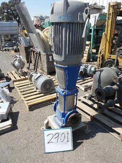 Used Grundfos 4'' x 4'' Inline Pump