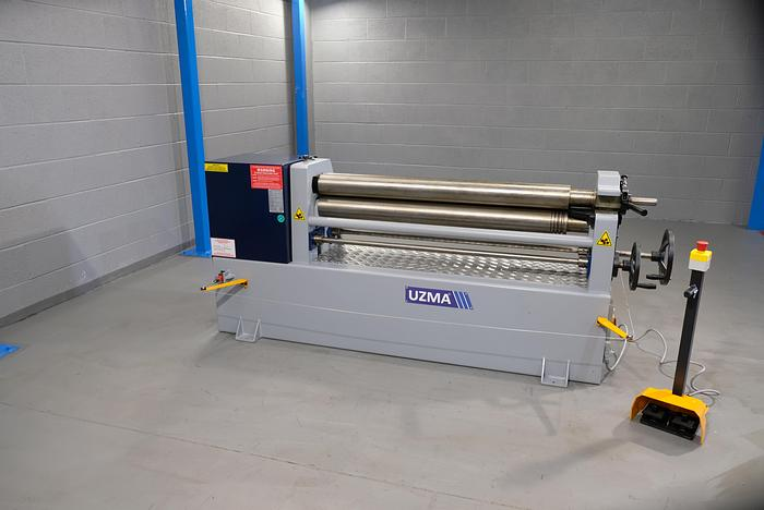 UZMA Model IRM Power operated 2mm -6mm Bending rollers