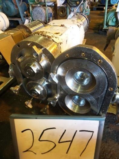 Waukesha Model 60 Positive Displacement Pump #2547