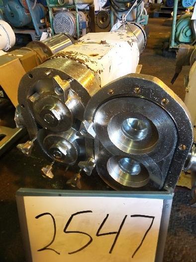 Used Waukesha Model 60 Positive Displacement Pump #2547