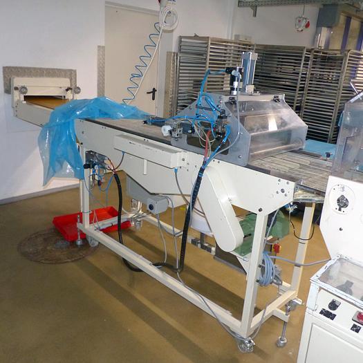 Gebraucht gebr. Trüffelgittertisch SOLLICH ca. 420 mm Arbeitsbreite und 2,5 Meter Länge