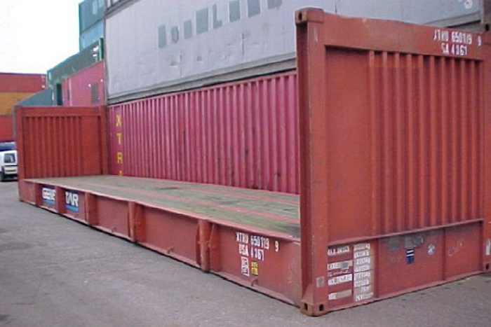 "40 'Container 8'6 ""Fixed End"