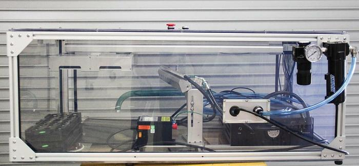 Used Exair Super Air Knife with Automated Track & Controller in Protective Box (6190)