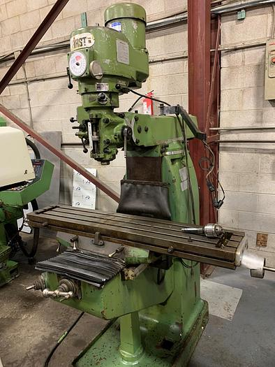 """Used 9"""" X 49"""", FIRST,  LC-18VA, VERTICAL MILLING MACHINE"""