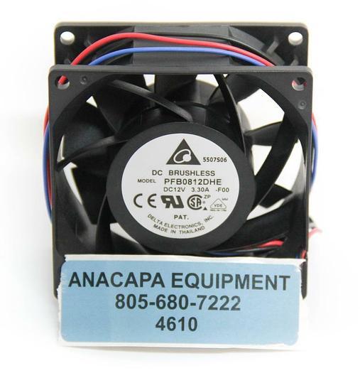 Used Delta Electronics PFB0812DHE DC Brushless Fan Module 12VDC 3.30A Lot of 5 (4610)